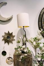 Chehoma Tafel lamp incl. kap VOGEL OP STOK kleur 63 cm