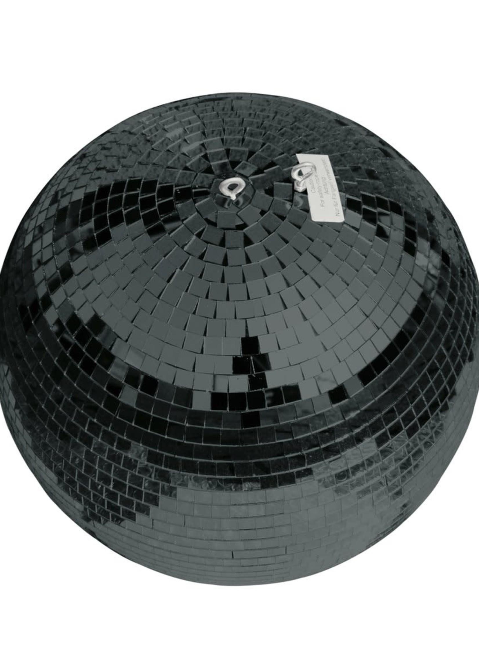 Eurolite Discobal ZWART glossy 30 CM