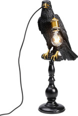 KARE Tafel lamp KRAAI op stok ZWART
