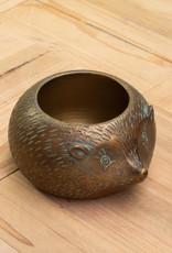 Chehoma Theelichthouder EGEL antiek goud