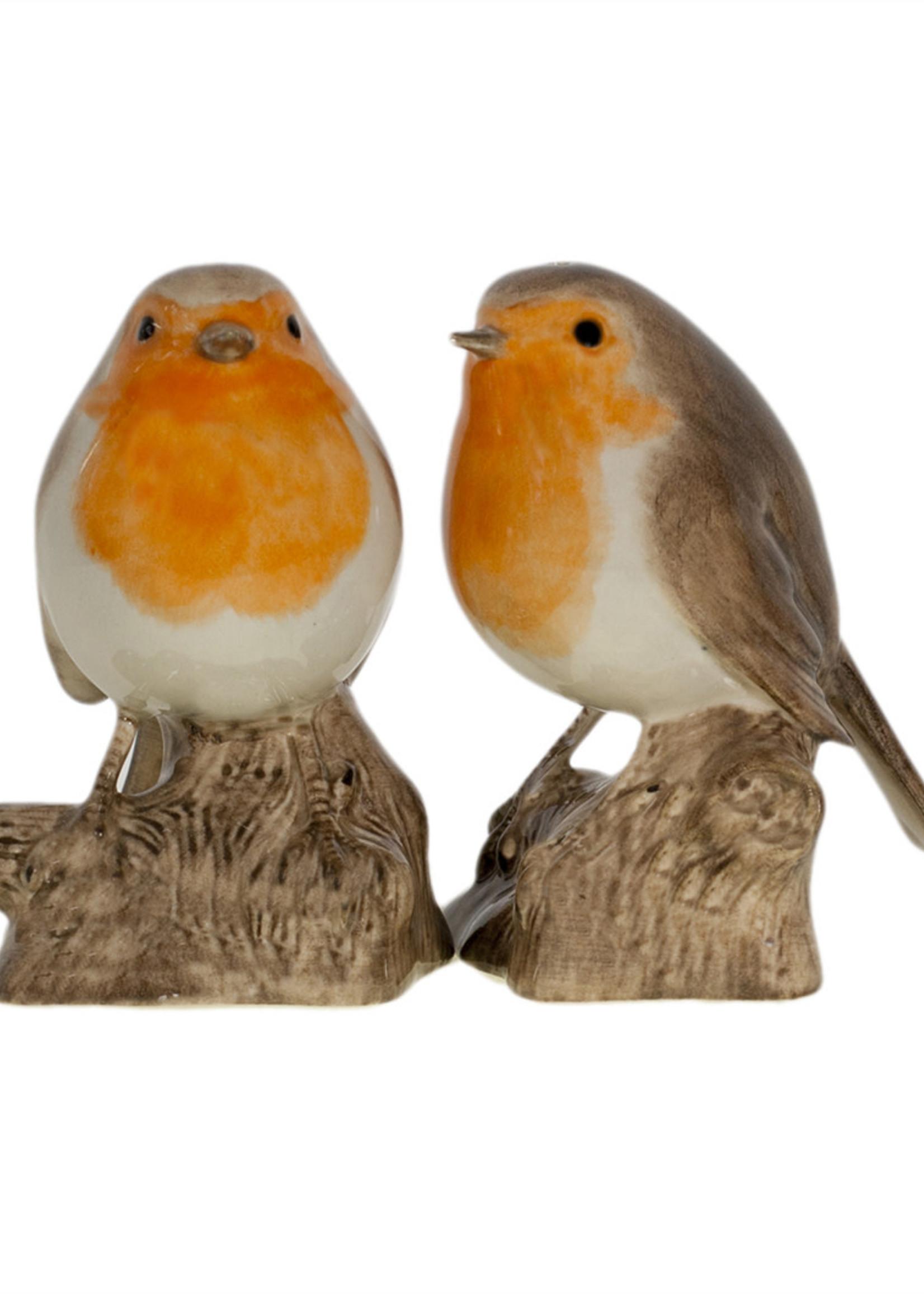 Quail peper en zout ROODBORSTJE robin