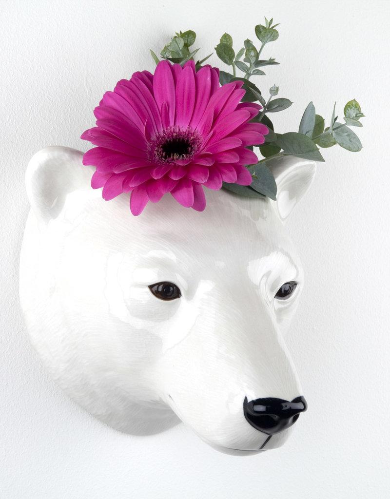 Quail Wandvaas IJSBEER polar bear