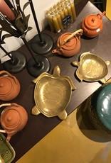 Chehoma Schaaltje SCHILDPAD goud Large 24 x 21cm