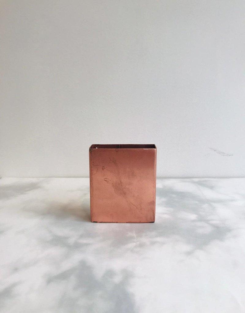 Naman Project Vaas POCKET metaal KOPER 7.5x2.5x8cm