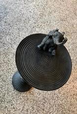 Chehoma Console met OLIFANT zwart 67 cm hoog