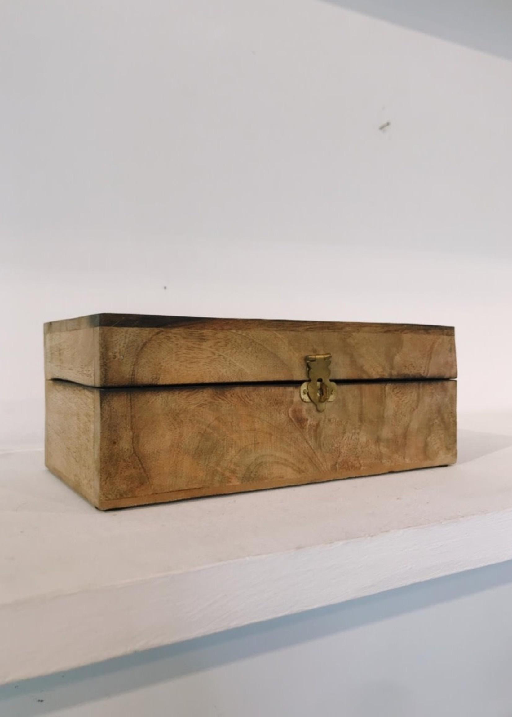 Van Manen Opberg doos HOUT 21x11x6 cm