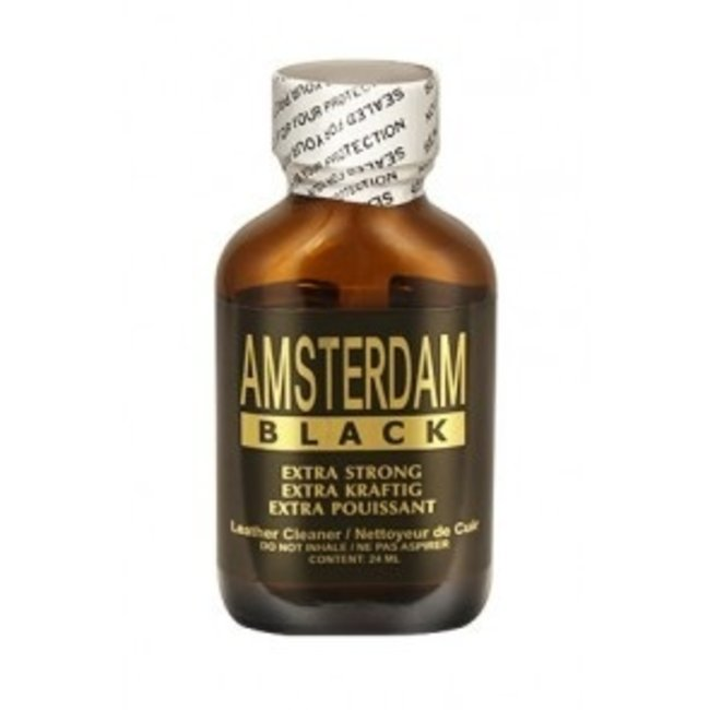 Poppers Amsterdam Black - 24ml