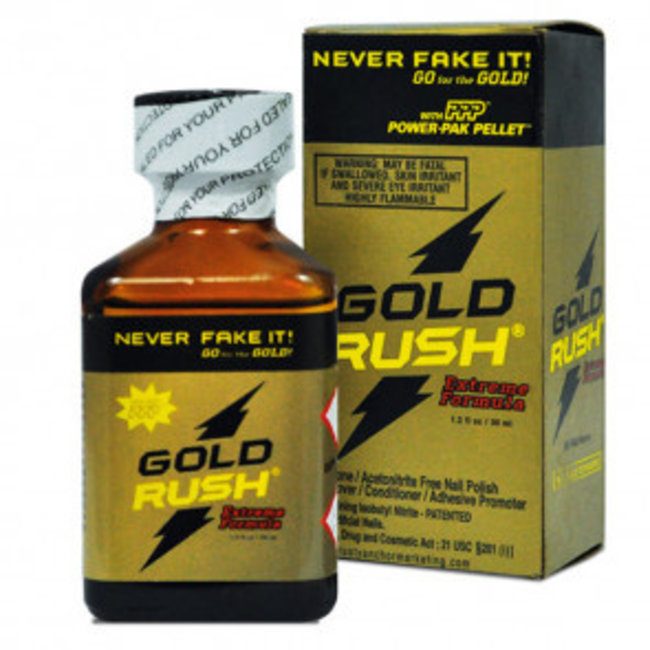 Poppers Gold Rush Extreme Formula - 30ml