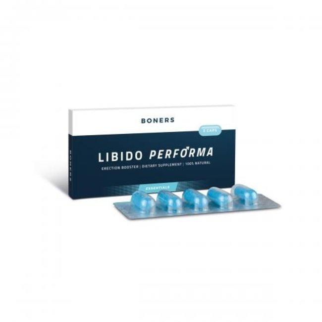 Libido Performa Erektionsverstärker - 5 Stück