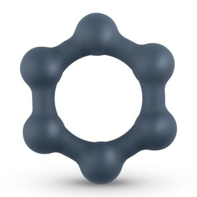 Hexagon Penisring mit