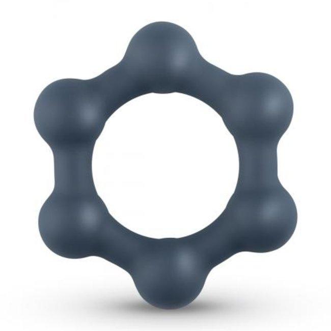 Hexagone avec boules d'acier