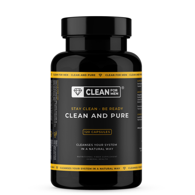 Clean and Pure for Men | 120 capsules