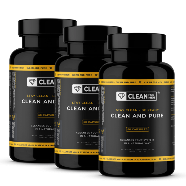 3x Clean and Pure for Men | 60 capsules