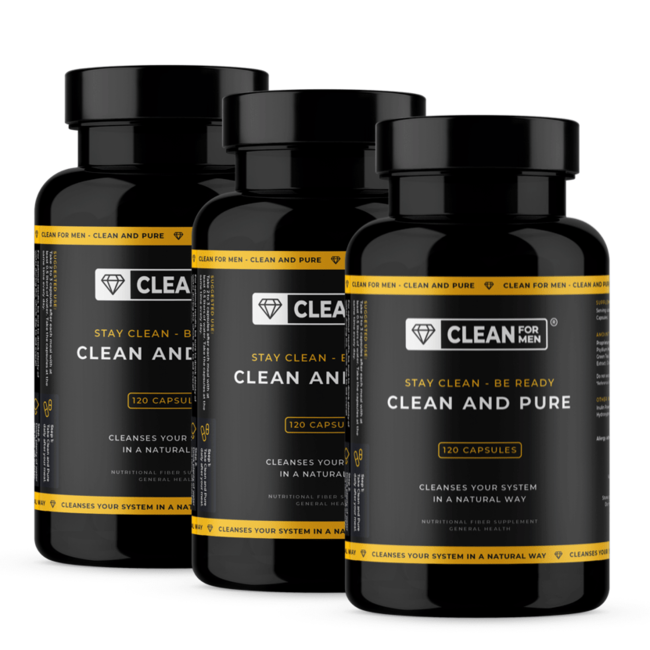 3x Clean and Pure for Men   120 capsules
