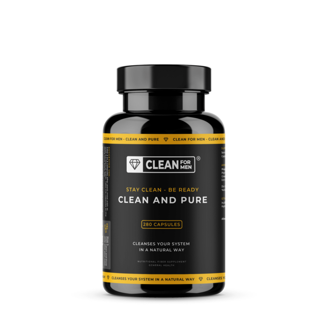 Clean and Pure for Men | 240 capsules