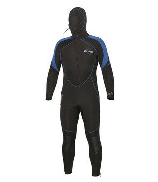 7mm Sport S-Flex Hooded Full Blue Men