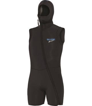 7mm Step-In S-Flex Hooded Vest Black Men