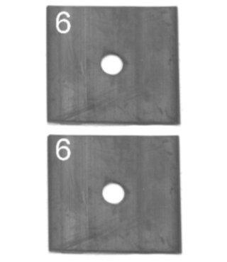 Flat Rubber Twinning Set