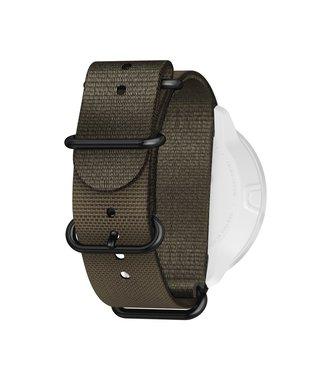 24mm Dive 2 Textile Zulu Strap Kit D5 Stealth/Black L