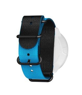 24mm Dive 2 Textile Zulu Strap Kit D5 Blue/Black L