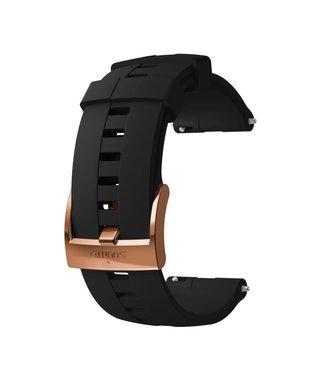 24mm Athletic 4 Silicone Strap Kit D5 Black/Copper M