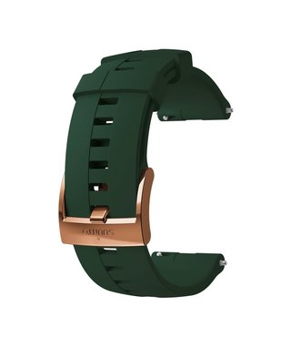 24mm Athletic 4 Silicone Strap Kit D5 Forest/Copper M