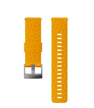 24mm Explore 1 Silicone Strap Kit D5 Amber/Gray M