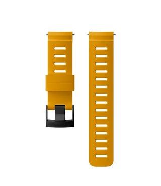 24mm Dive 1 Silicone Strap Kit D5 Amber/Black M