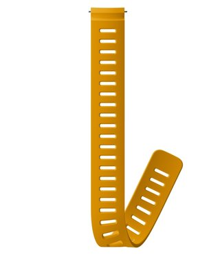24mm Dive 1 Silicone Extension Strap D5 Amber XL