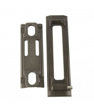 Tank Holder, Tank Plate and Set of RVS Clips 90-110mm (3L)