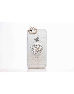Smartphonehoesje iPhone 7 plus / 8 plus | Bling (met houder)