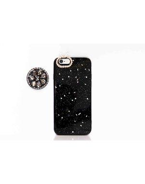 Smartphonehoesje iPhone X / XS | Bling (met houder)