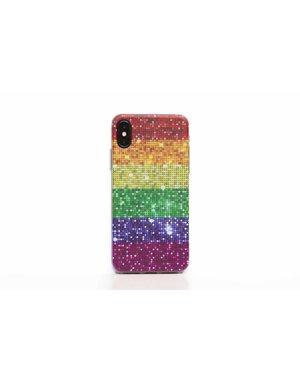 Smartphonehoesje iPhone X / XS | Pride flag