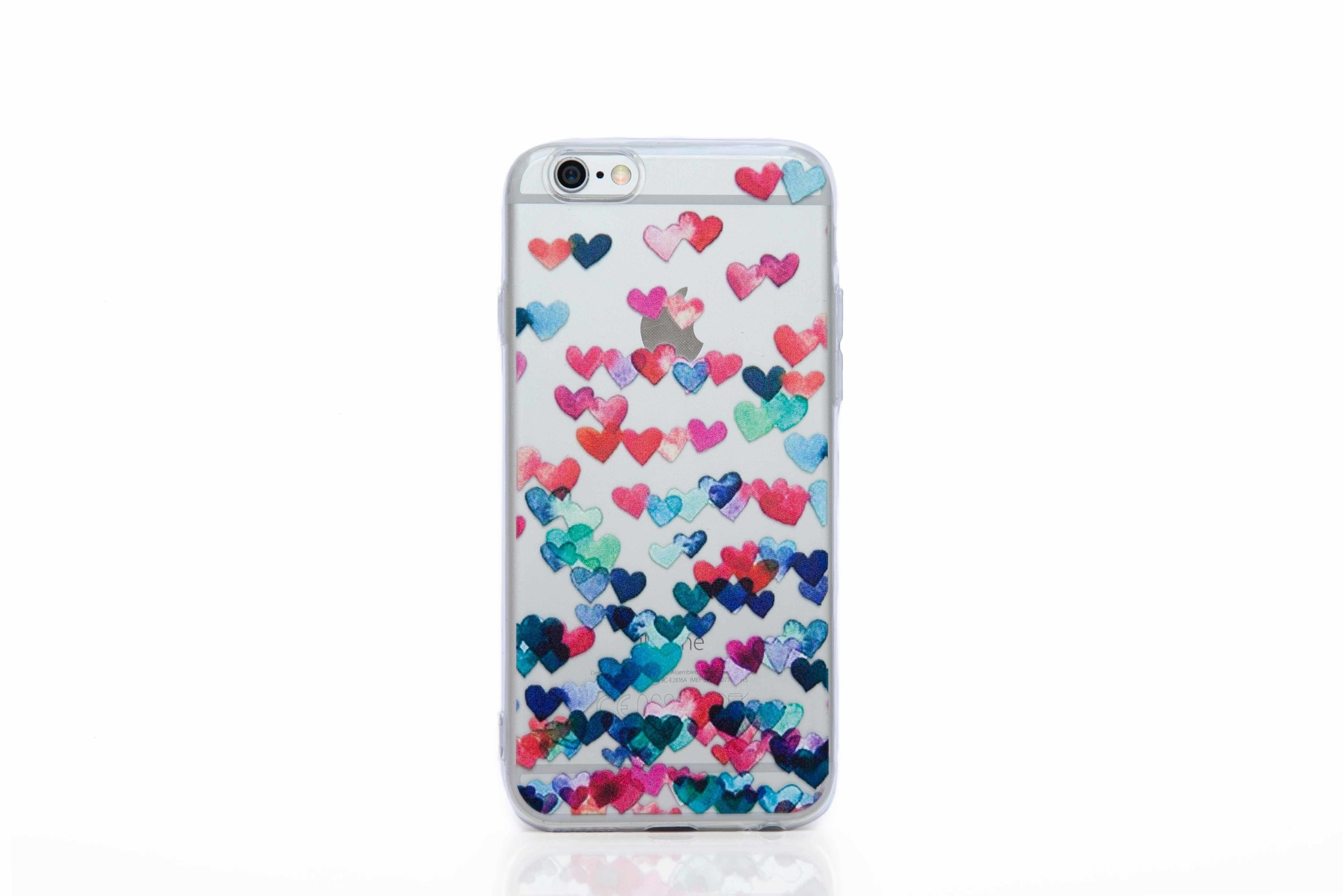 Smartphonehoesje iPhone 6s | Summervibes (met hartjes) | Multicolor