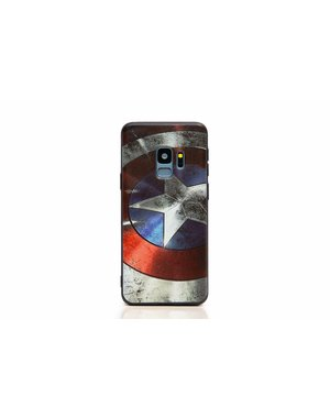 Smartphonehoesje Samsung S9 | Captain America