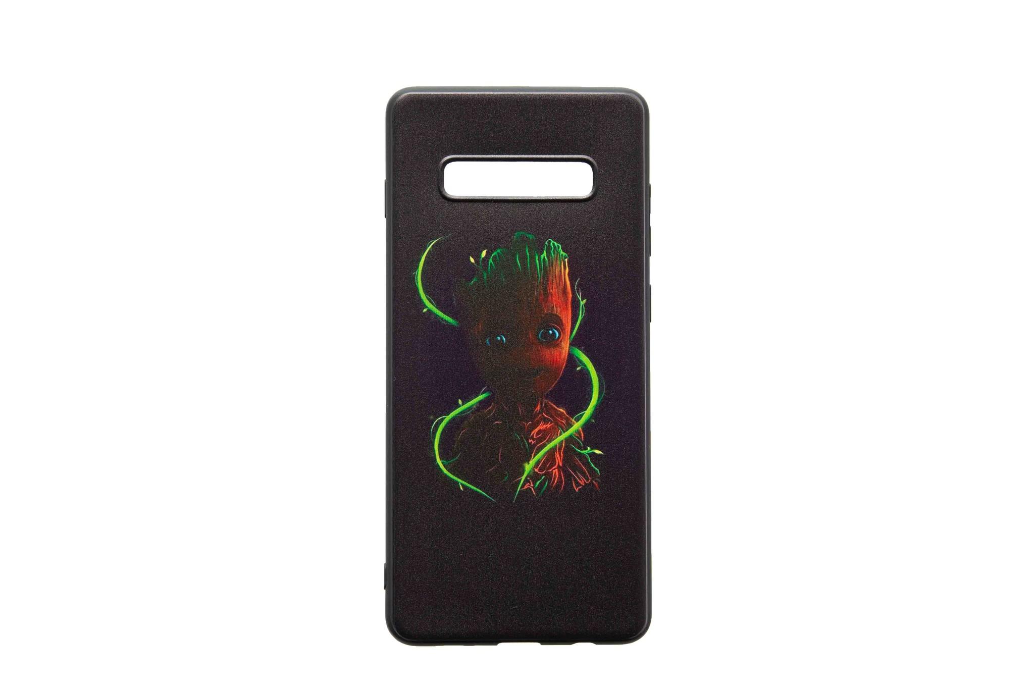 Smartphonehoesje Samsung S10 plus | Marvel's Groot