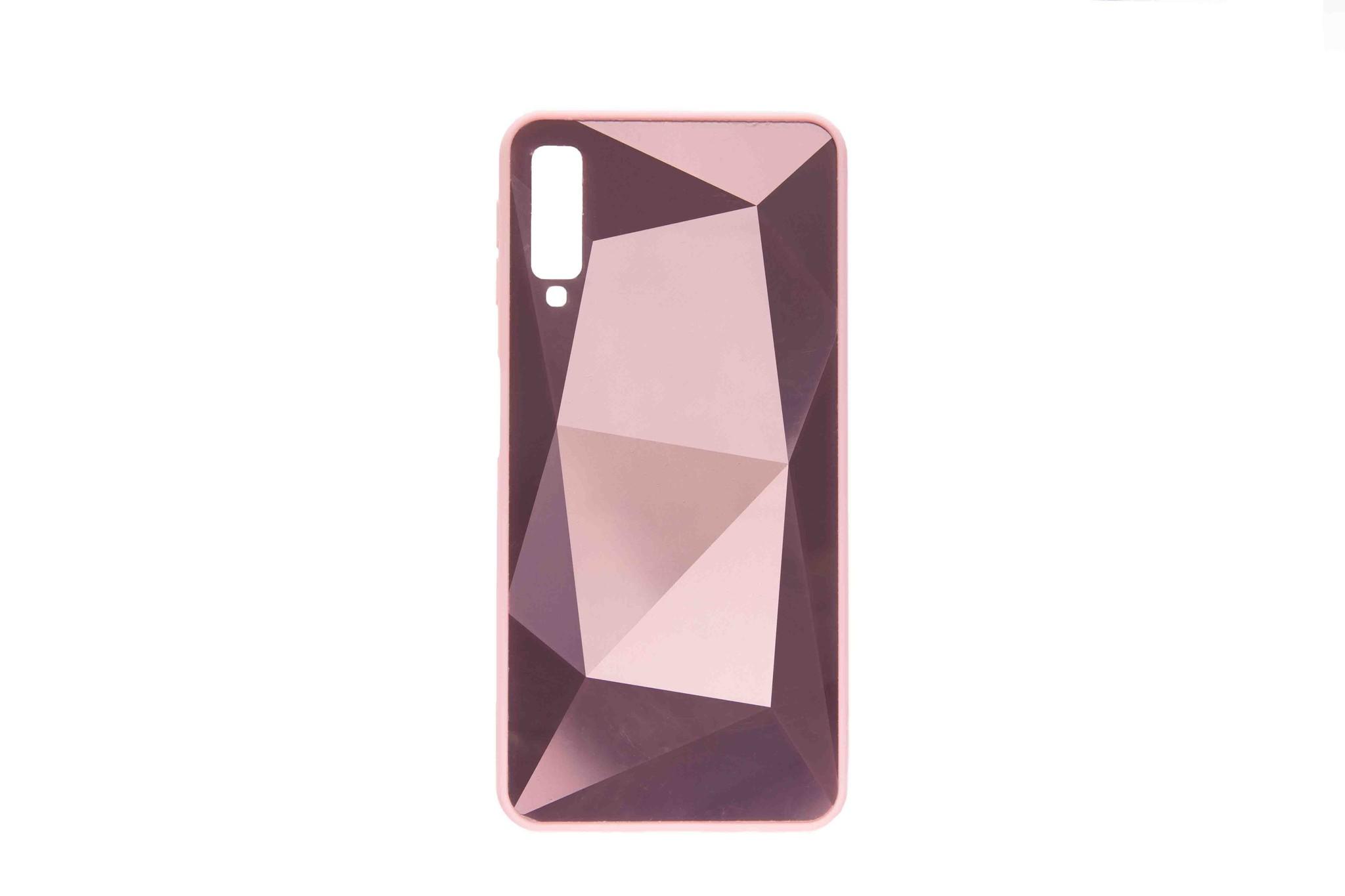 Smartphonehoesje Samsung A8 | Bling | Roze