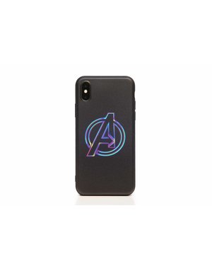 Smartphonehoesje iPhone XR | Marvel (Avengers logo) | Multicolor