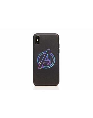 Smartphonehoesje iPhone 7 plus / 8 plus | Marvel (Avengers logo)