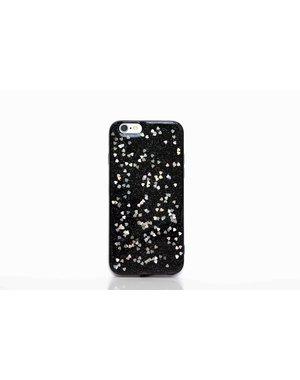 Smartphonehoesje iPhone X / XS | Bling met hartjes