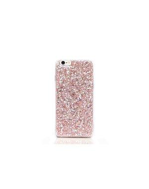 Smartphonehoesje iPhone 7 plus / 8 plus | Roze glitters