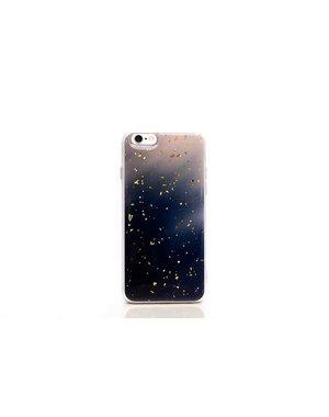 Smartphonehoesje iPhone X / XS   Marmerlook (glitter)