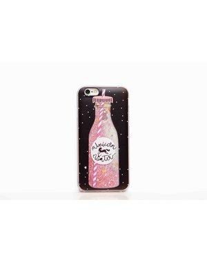 Smartphonehoesje iPhone 7 / 8 | Bewegende glitters