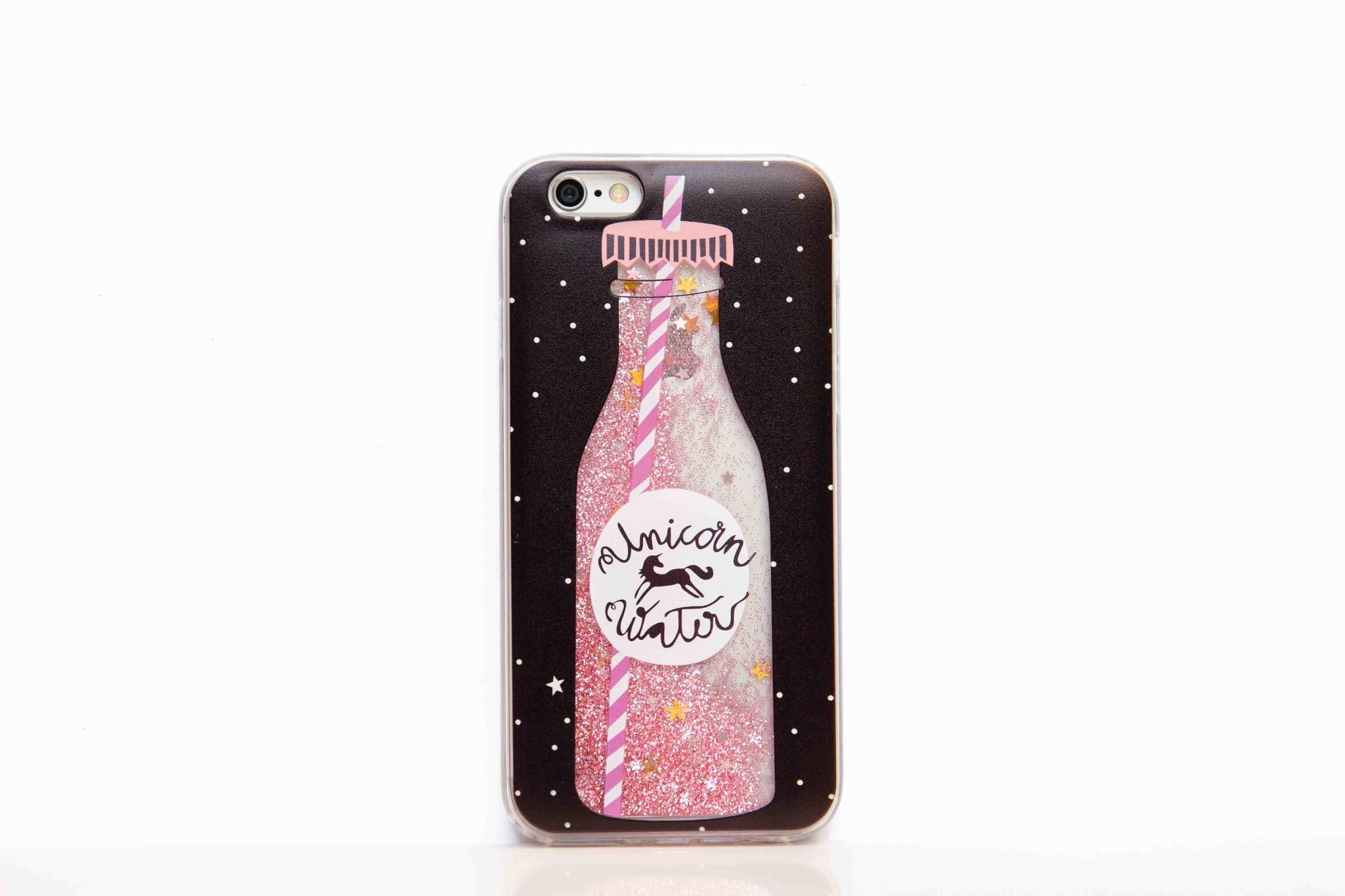 Smartphonehoesje iPhone 7/8 | Bling (met bewegende glitters)