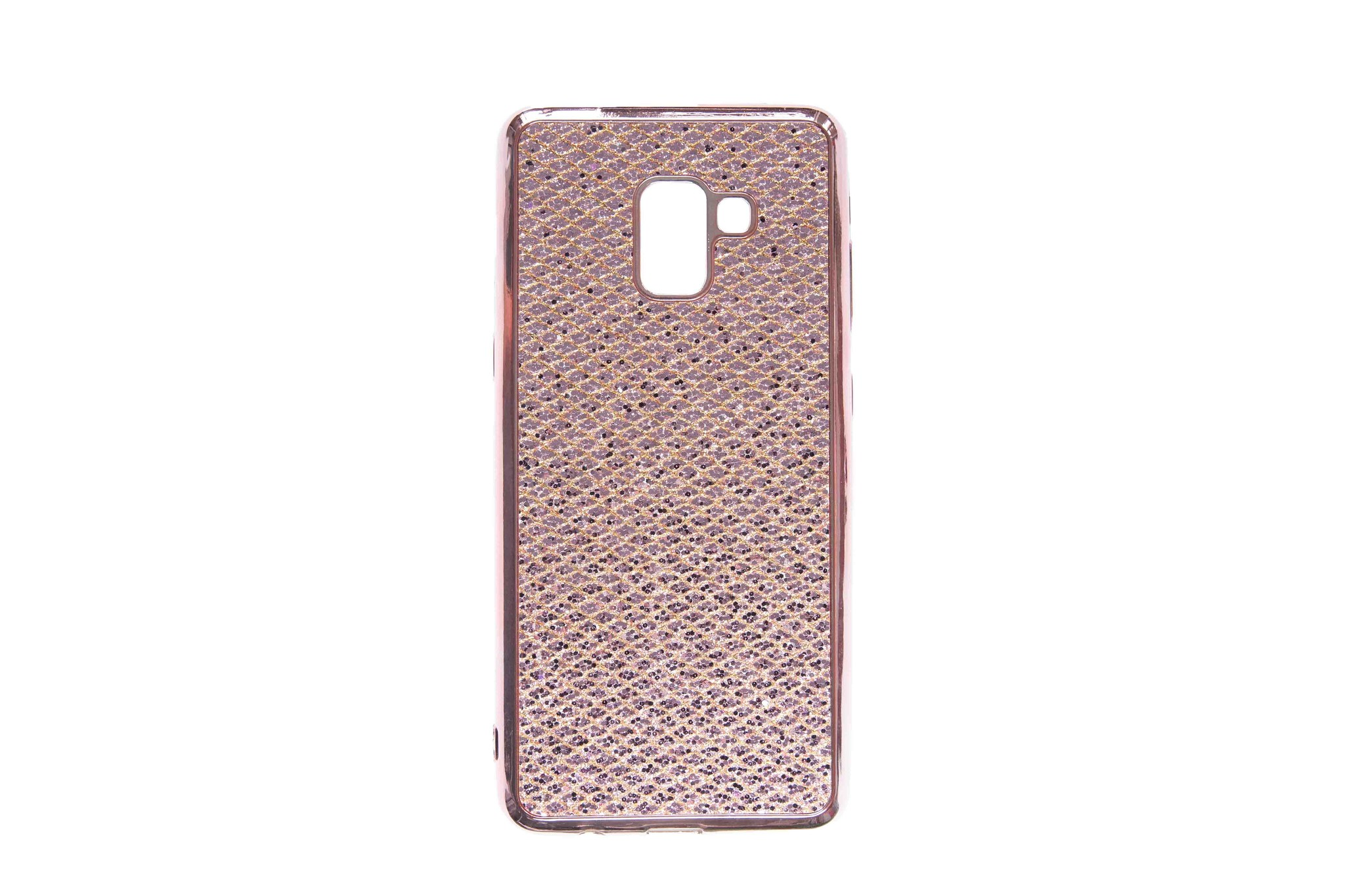 Smartphonehoesje Samsung A50 | Bling | Rose gold