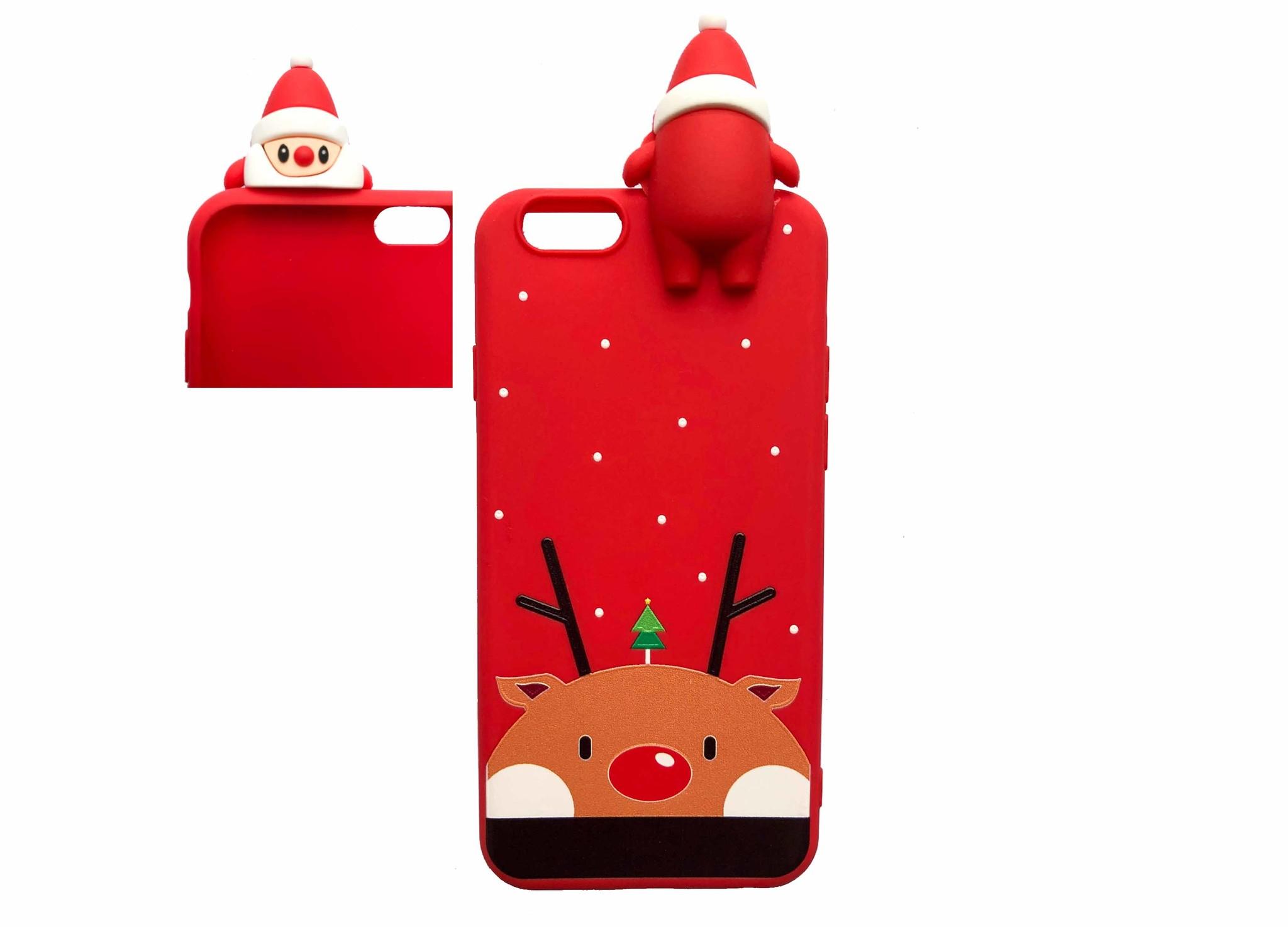 Smartphonehoesje iPhone 6s   Kerstman 3D