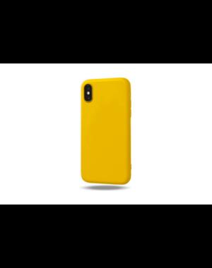 Smartphonehoesje iPhone X / XS   Geel