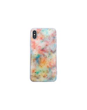 Smartphonehoesje iPhone X / XS   Marmerlook