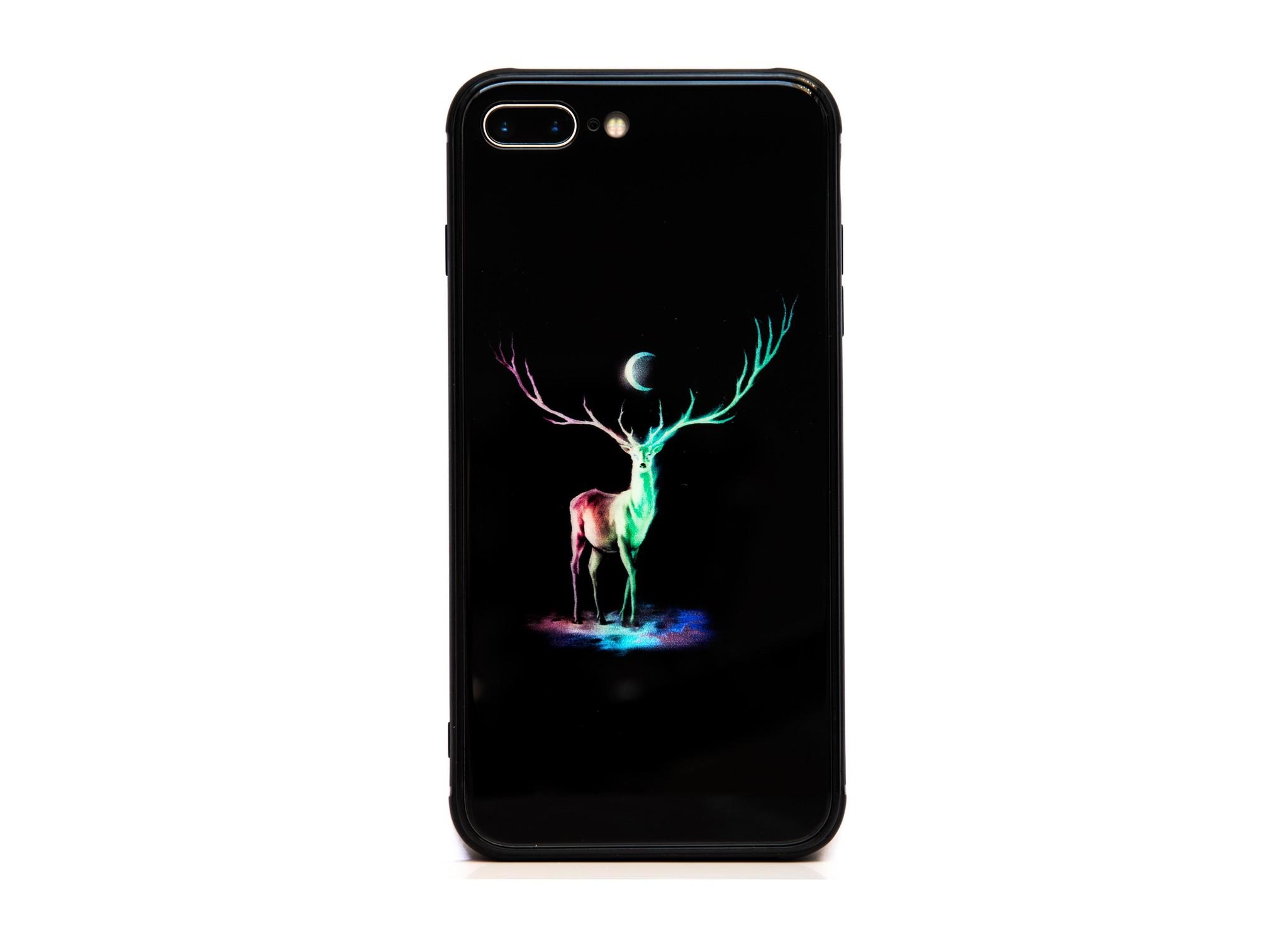Smartphonehoesje iPhone XR | Dierenprint (hert)