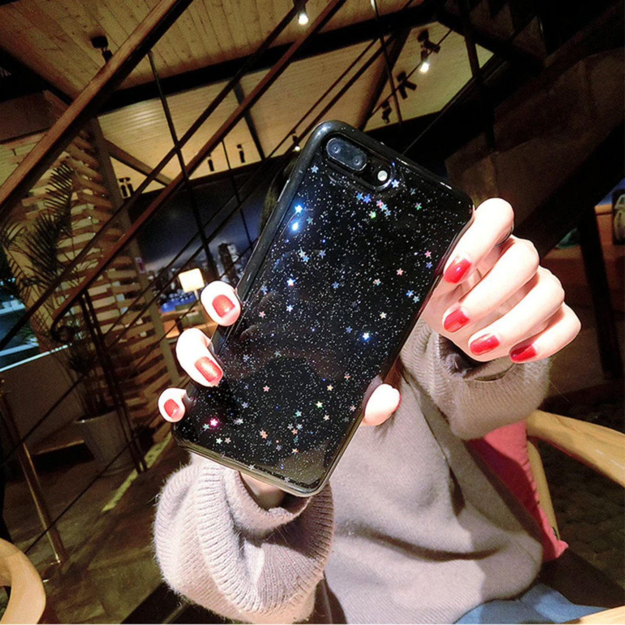 Smartphonehoesje iPhone 7 plus / 8 plus | Stars